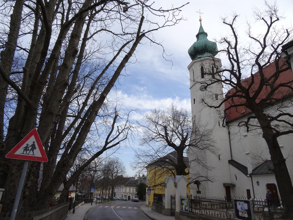 Die Grinzinger Pfarrkirche