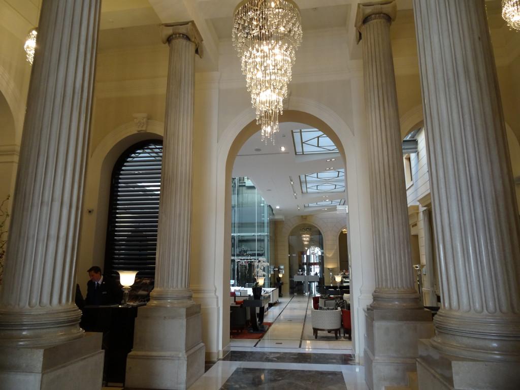 Palais Hansen Kempinski - Eingang