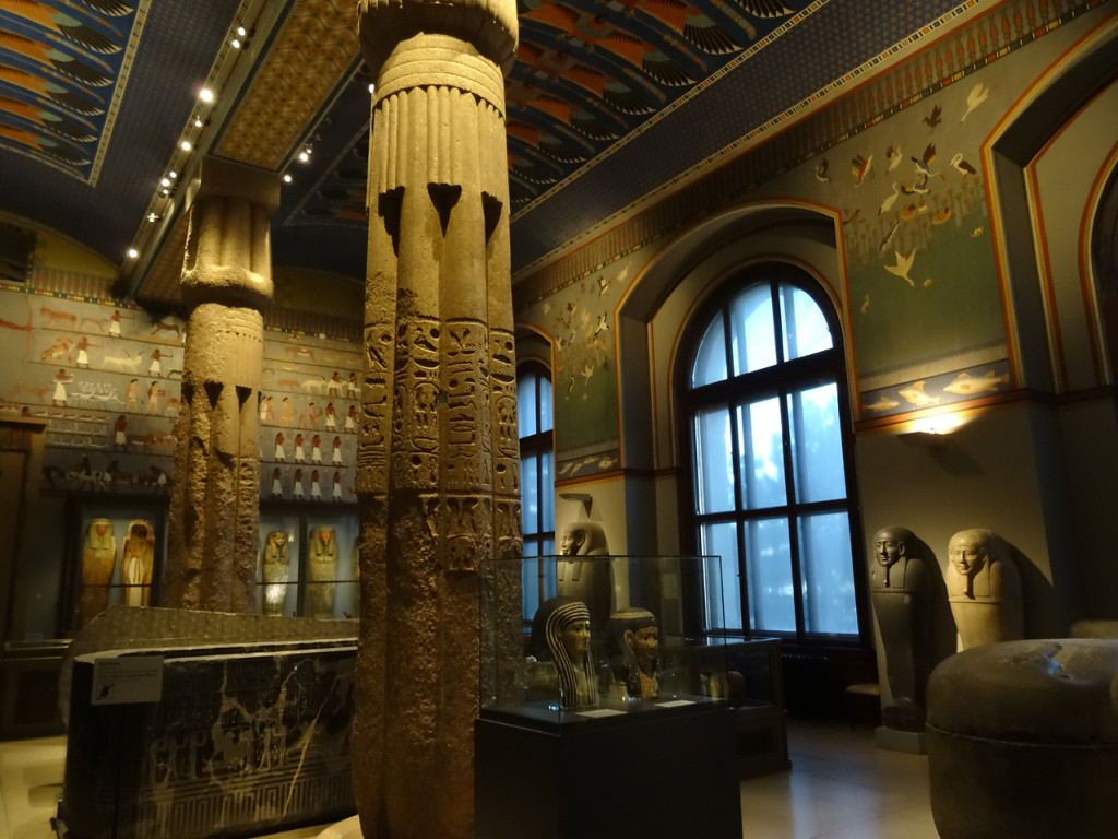 In der Ägyptisch-Orientalischen Sammlung