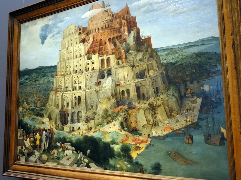 "Pieter Brueghel der Ältere ""Turmbau zu Babel"""