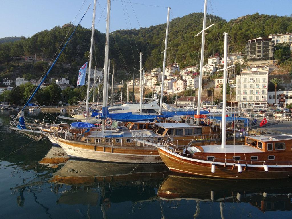 Morgenstimmung im Hafen von Fethye