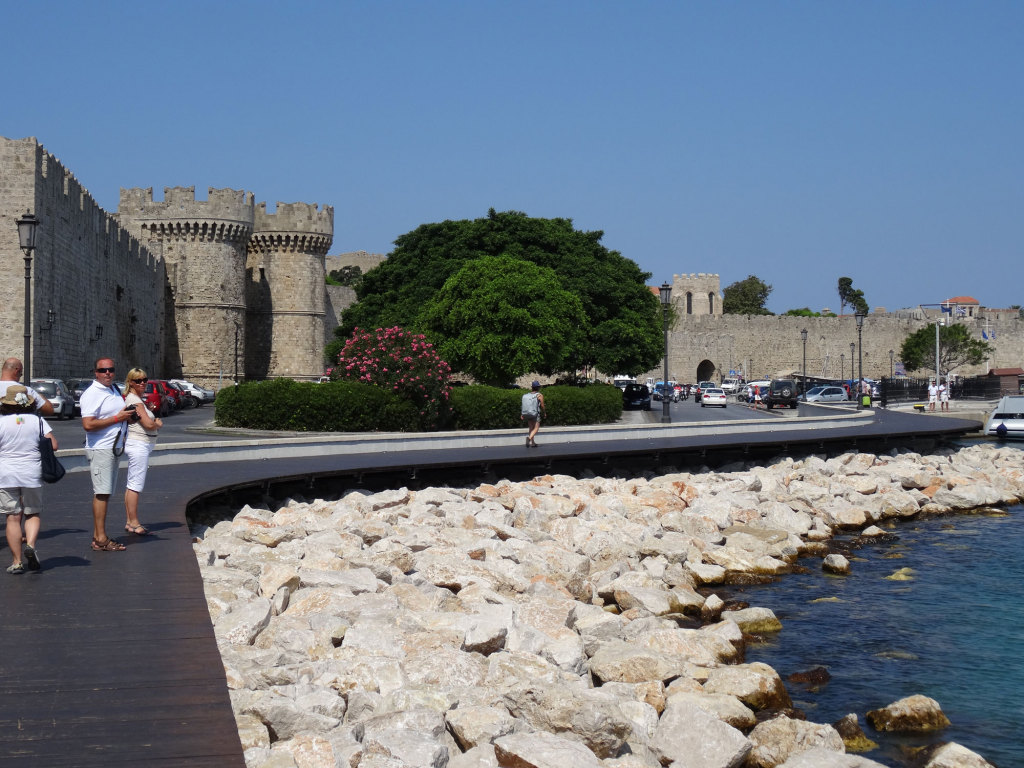 Rhodos - Stadtmauer