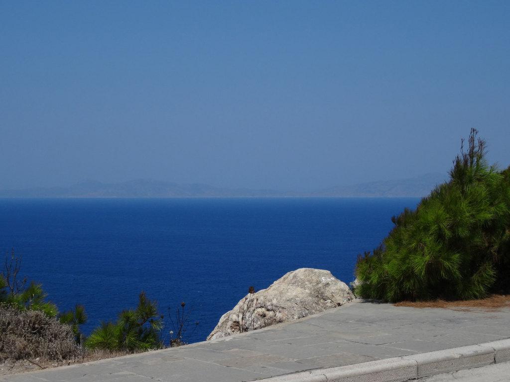 Rhodos-Stadt - Blick auf die türkische Küste