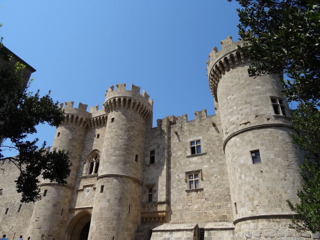 Rhodos-Stadt - Der Großmeister-Palast