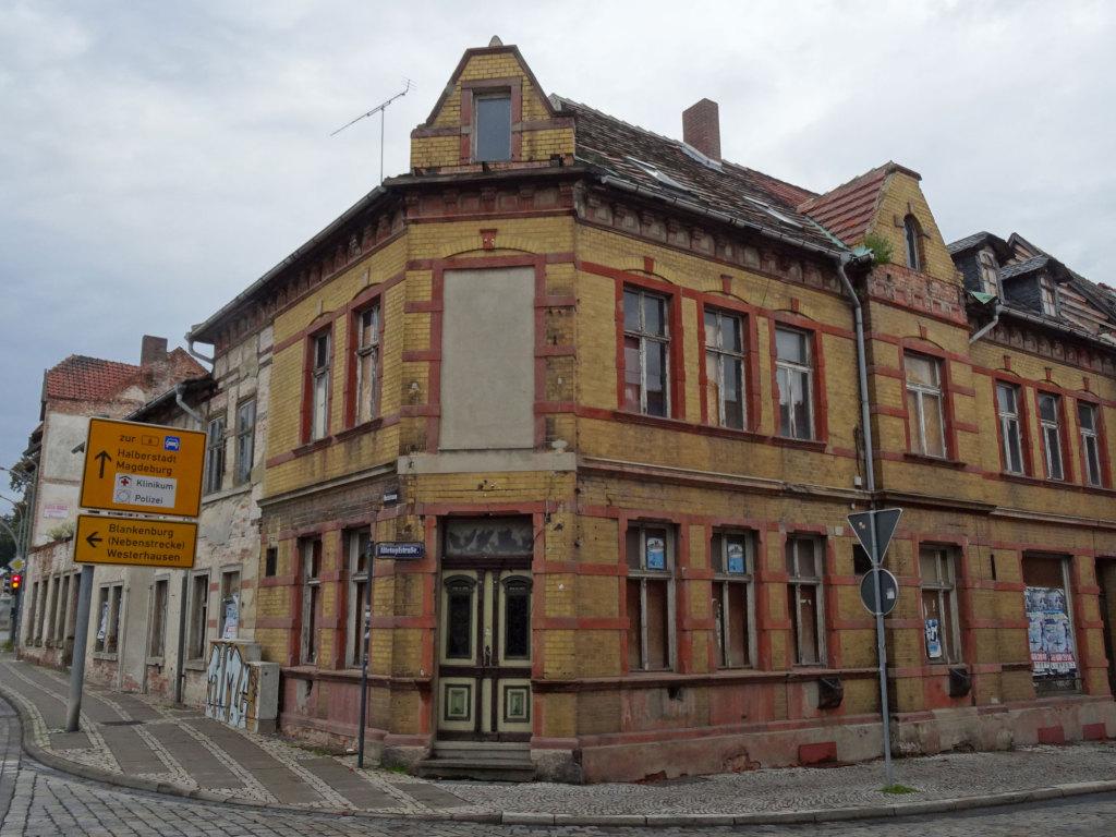 Quedllinburg - Eine der wenigen schmuddligen Ecken