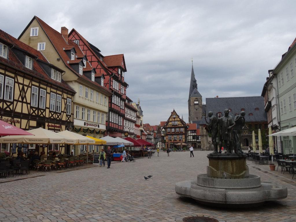 Quedlinburg - Marktplatz