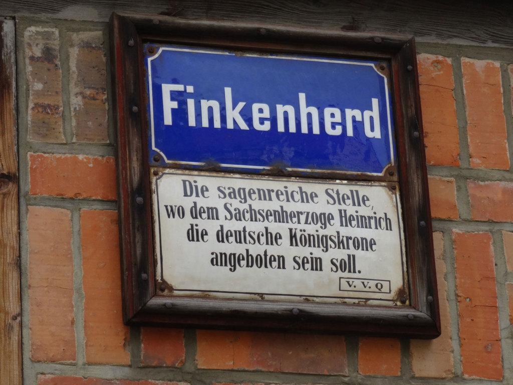 Quedlinburg - Ebenjener Finkenherd