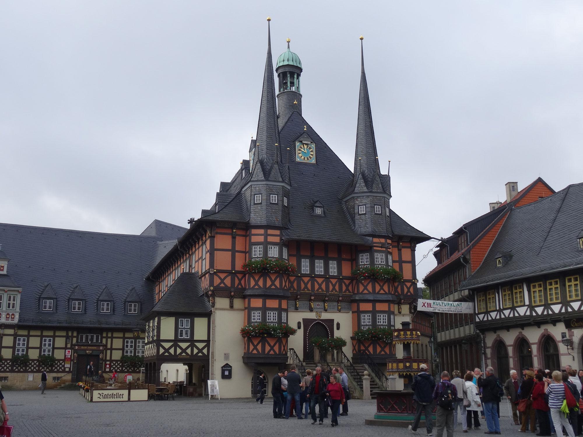 Quedlinburg, Wernigerode, Halberstadt – 18.-20.09.2014