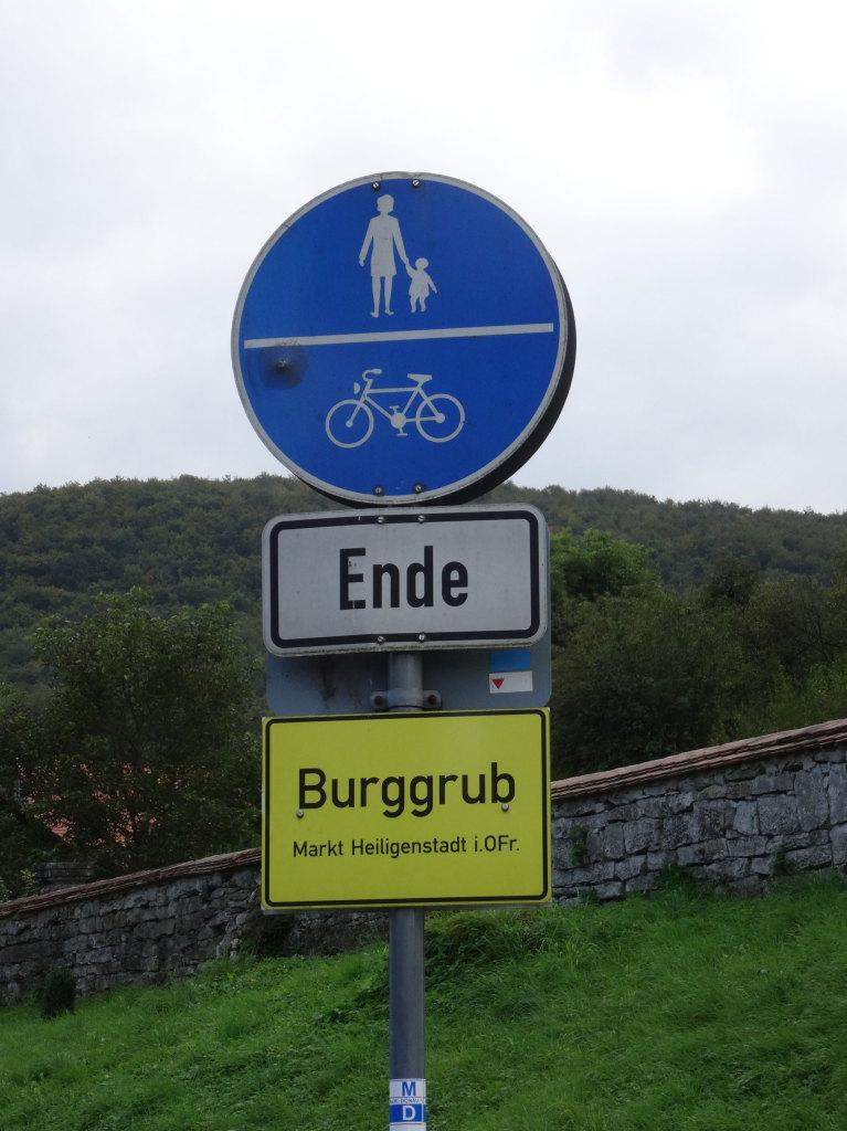 Burggrub - Ein Palindrom