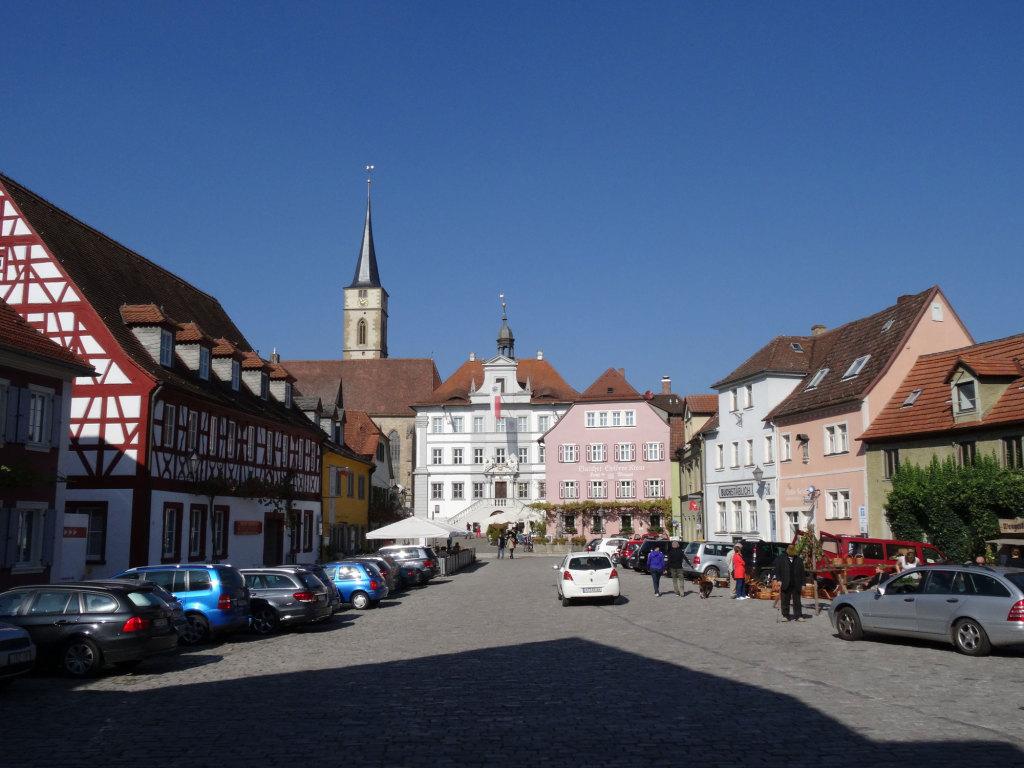 Iphofen - Marktplatz