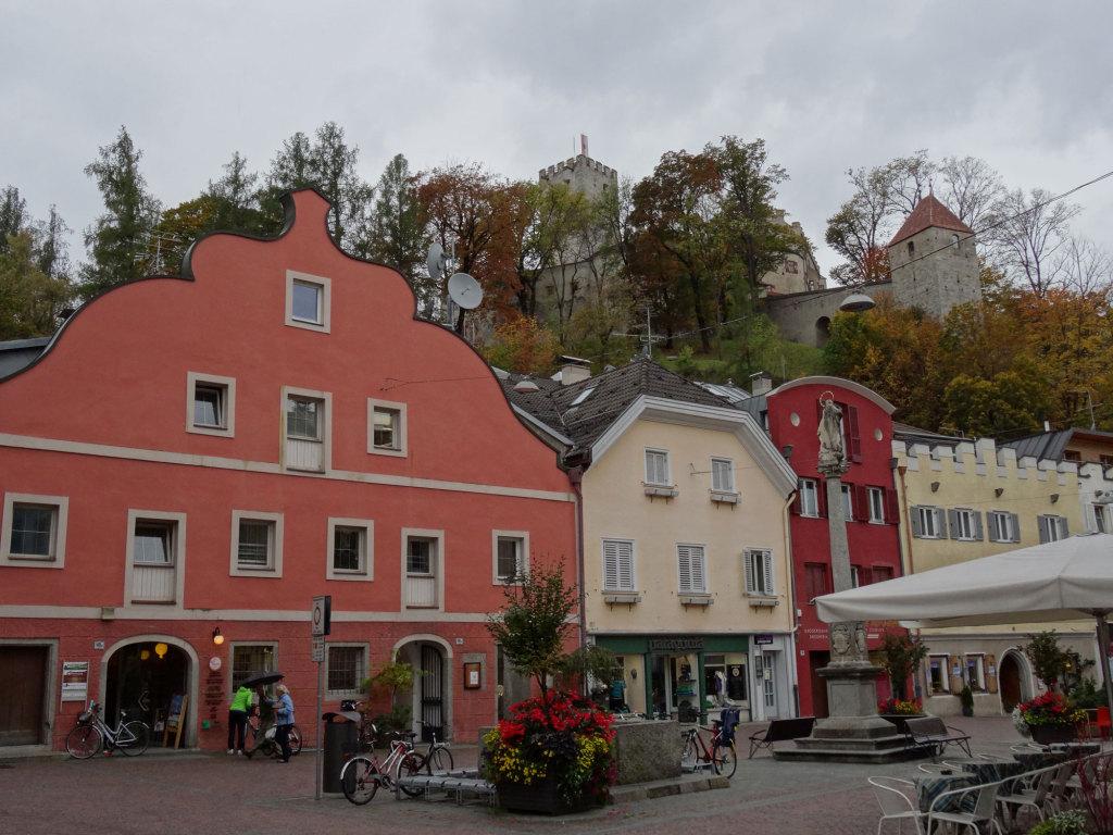 Bruneck - Blick auf das Schloss