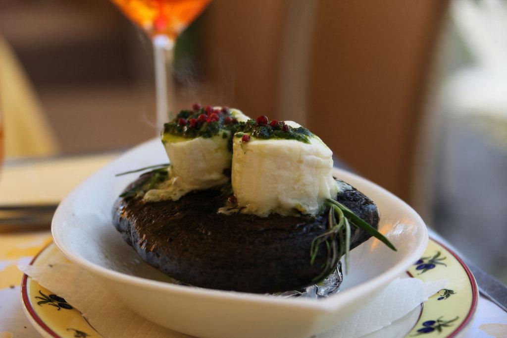 Ascona - Vorspeise im Restaurant Al Porto