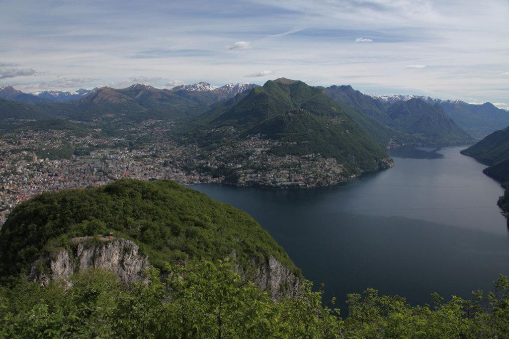 Blick vom Monte San Salvatore