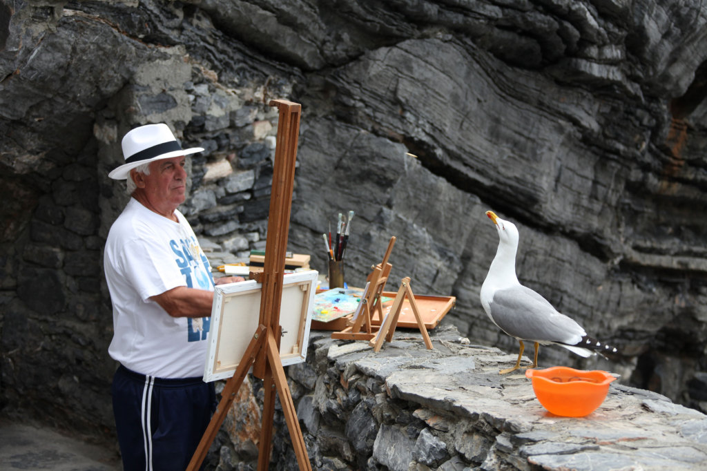 Portovenere - Der Maler und sein Objekt