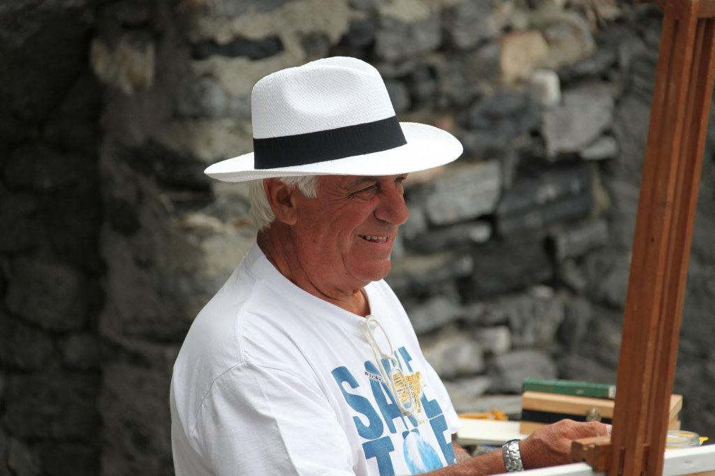 Portovenere - Der Maler