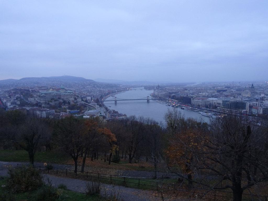 Blick vom Gellértberg