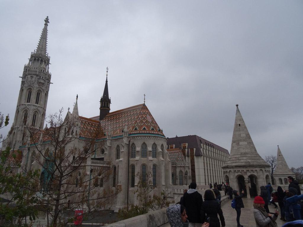 Matthiaskirche und Fischerbastei