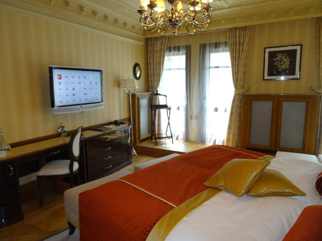Quisisana Palace - Das Schlafzimmer