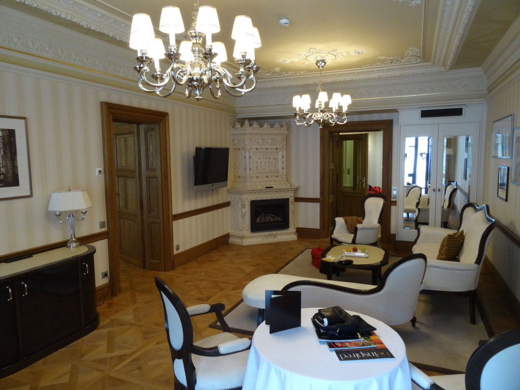 Quisisana Palace - Der Salon