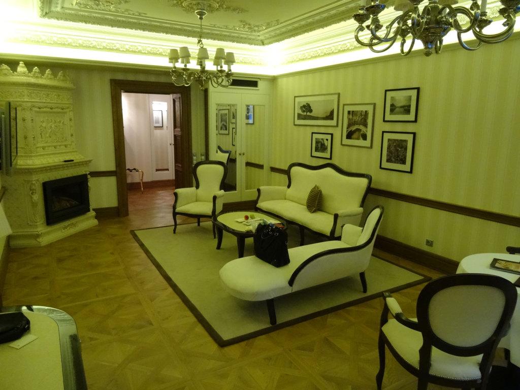 Quisisana Palace - Unser Wohnzimmer des Nachts