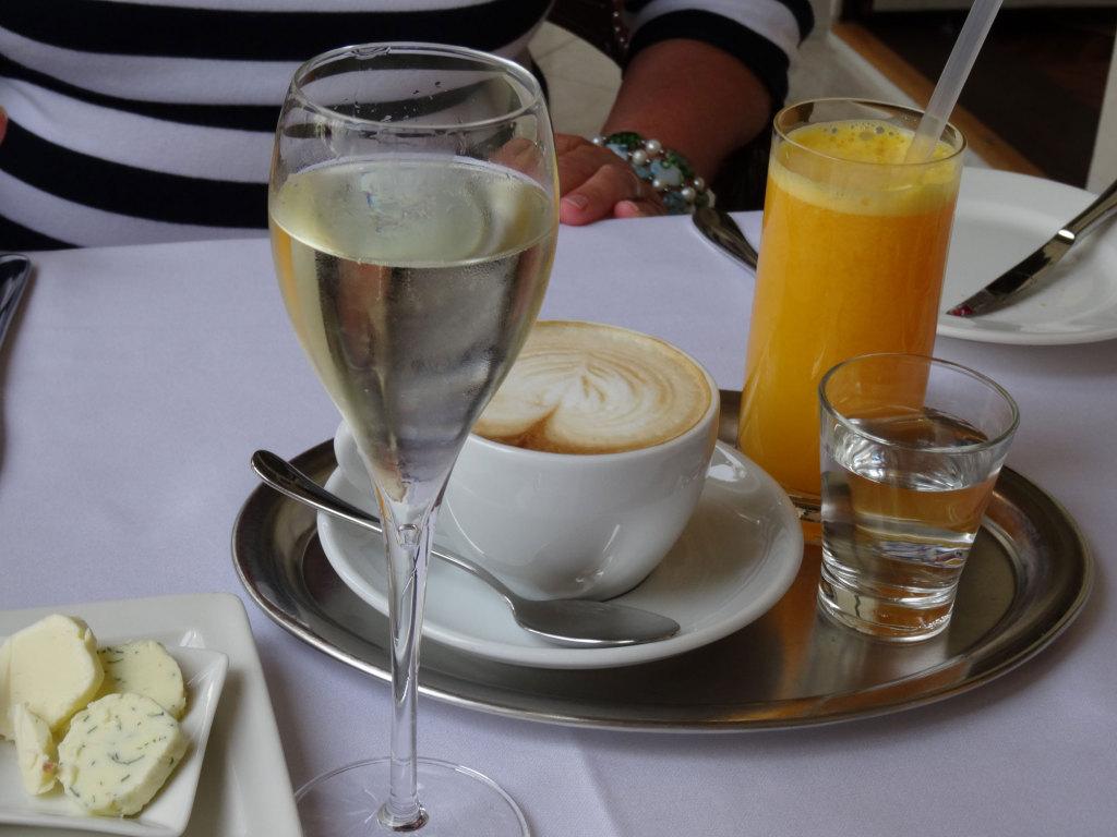 Frühstück im Quisisana Palace
