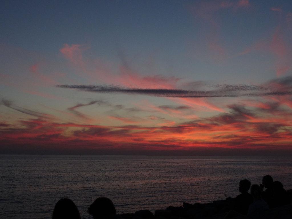 Sonnenuntergang übe dem Öresund