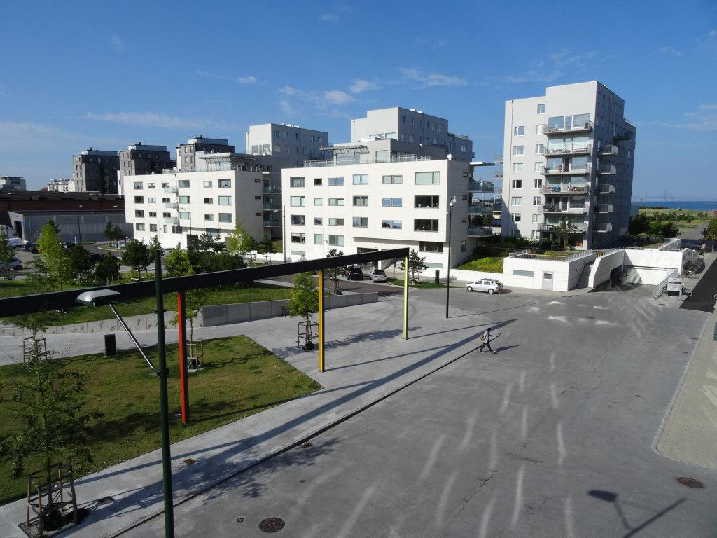 Malmö - Blick aus unserem Fenster