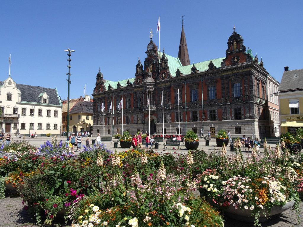 Malmö - Das Rathaus am Stortorget