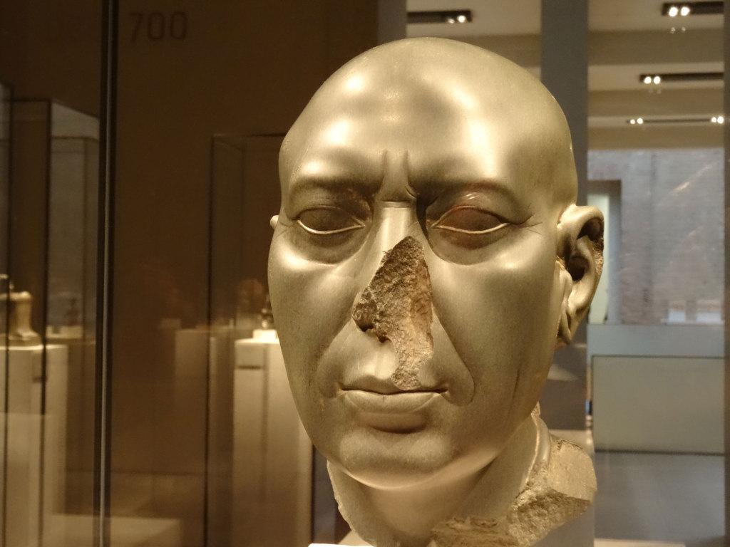 "Neues Museum - Der ""Berliner Grüne Kopf"" - um 350 v. Chr."