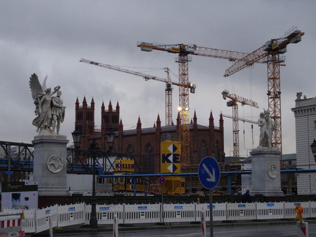 Berlin ist nach wie vor eine einzige Baustelle