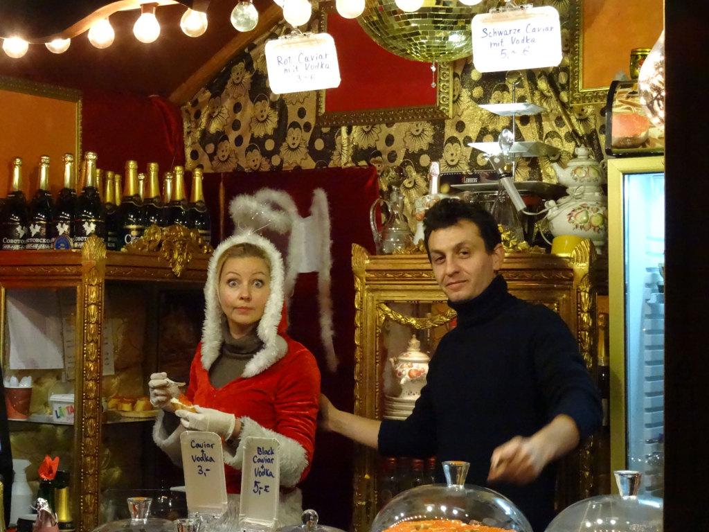 Breitscheidplatz - Weihnachtsmarkt - das Foto kostete mich 5 Euro :-)
