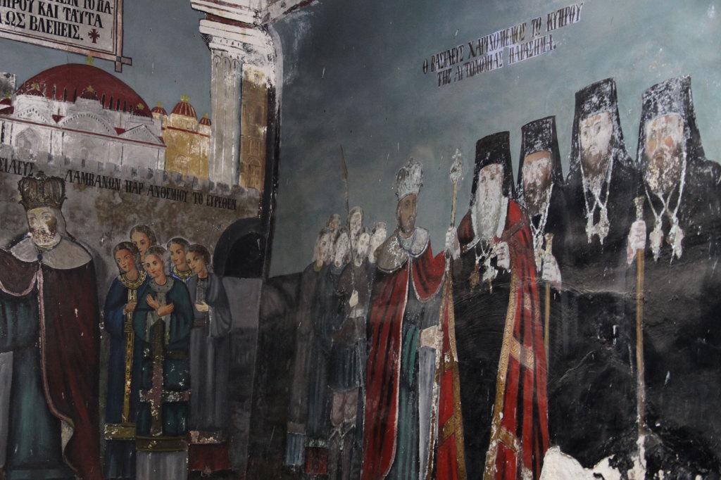 Barnabas-Kloster - In der Kirche