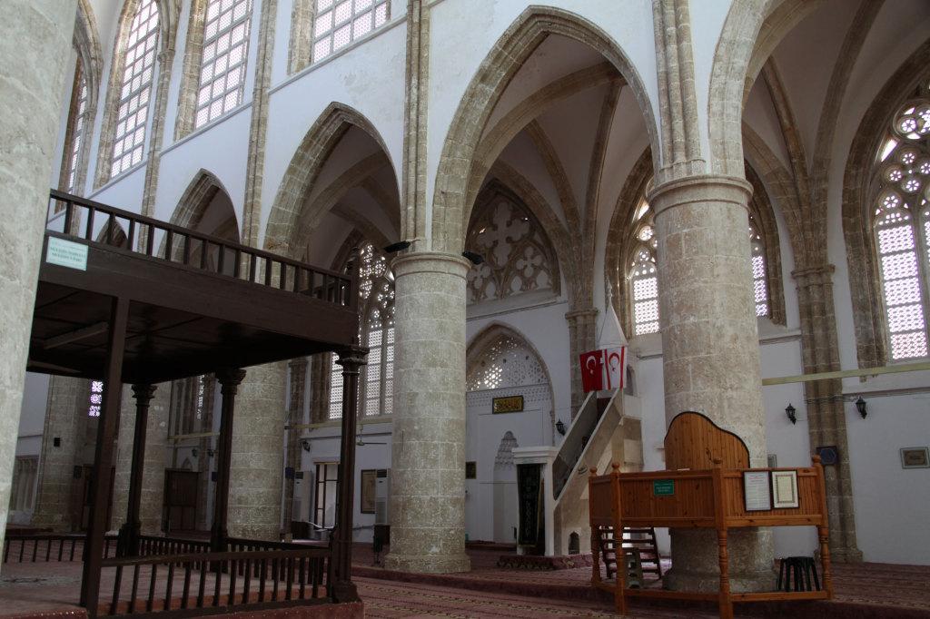 Die zur Lala Mustafa Pasha Moschee umgewidmete ehemalige St. Nikolaos-Kathedrale