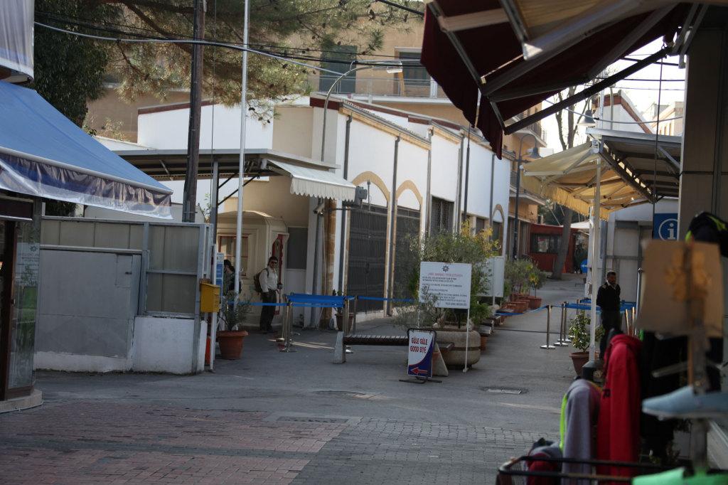Nikosia - Grenzübergang