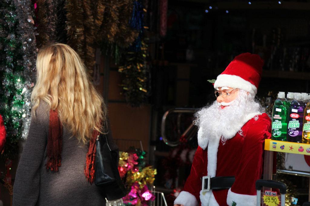 Da schaut der Nikolaus