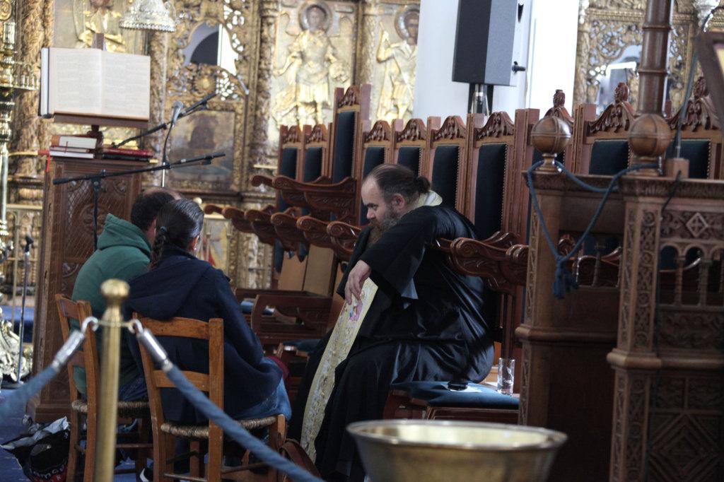 Nikosia - griechischer Teil - in einer Kirche
