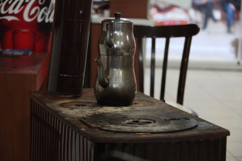 Pamukkale - Im kleinen Restaurant lecker gegessen