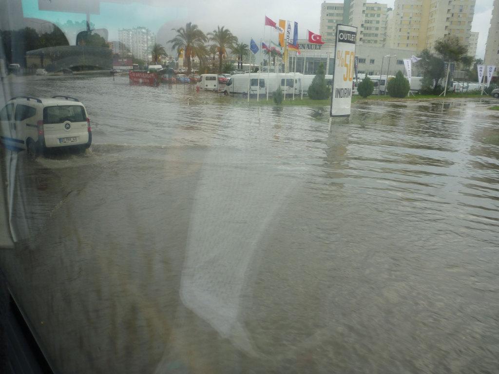 Antalya bei Regen