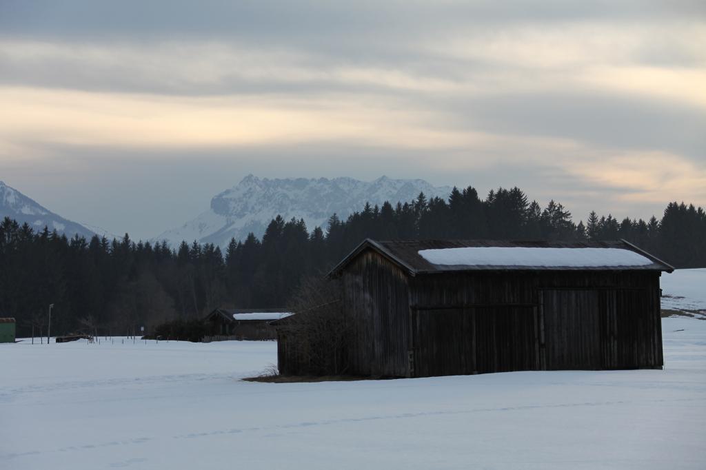 Reit im Winkl - Blick auf das Kaisergebirge