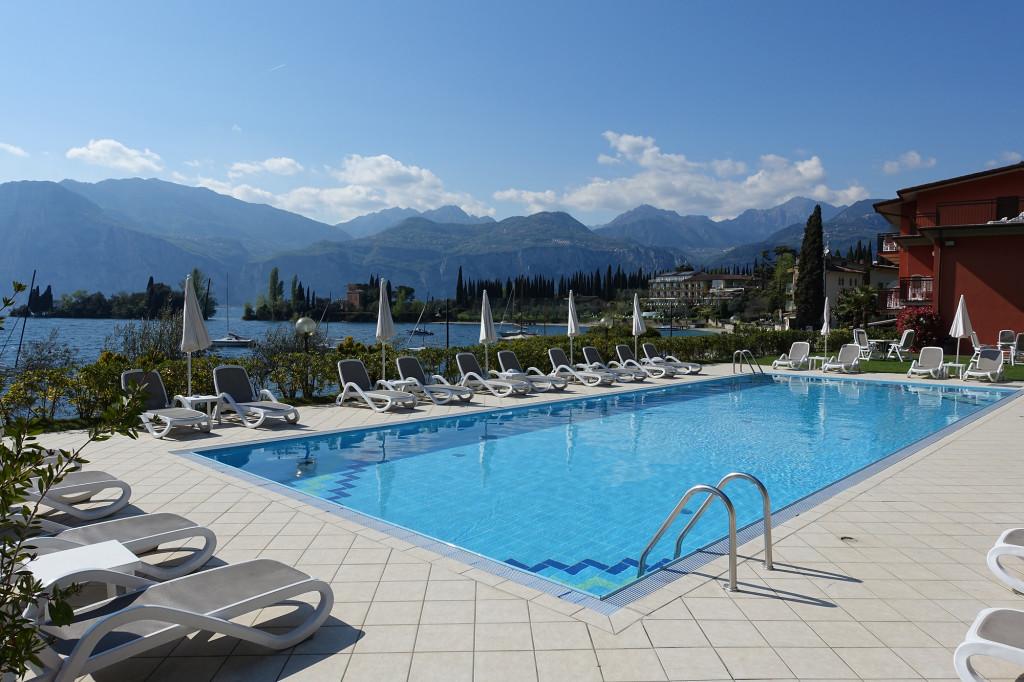 Hotel Rosa - der Pool