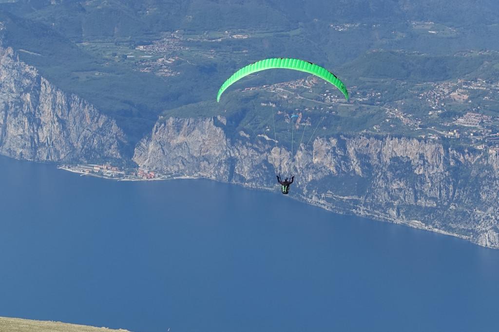 Monte Baldo - Paraglider