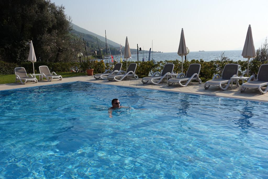 Hotel Rosa - das Wasser war soooo kalt