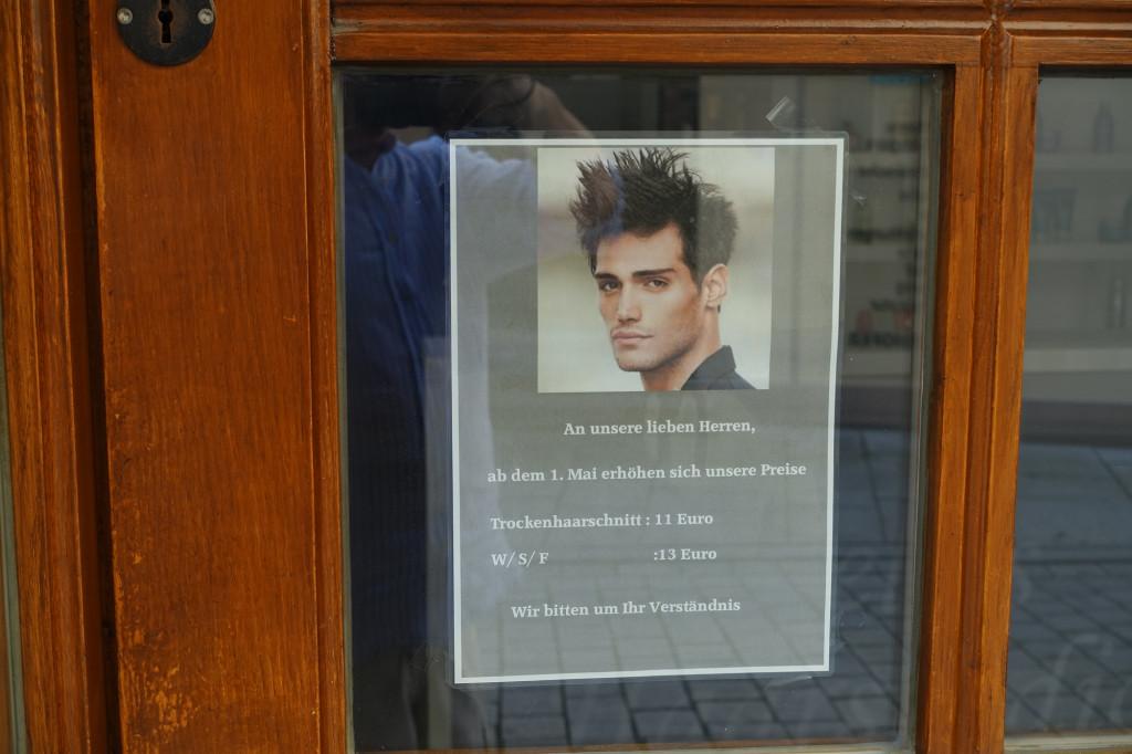 Demnächst werde ich meinen Friseur mit diesen Preisen konfrontieren