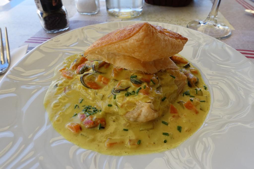 O 2 Frères - Feuilleté de moules au curry