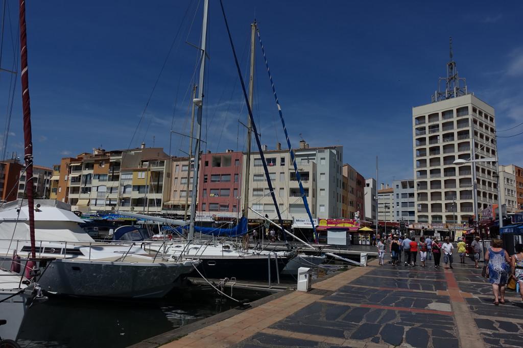 Cap d' Agde - das höchste Gebäude des Ortes
