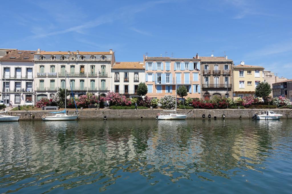 Blick vom Restaurant L' Amiral