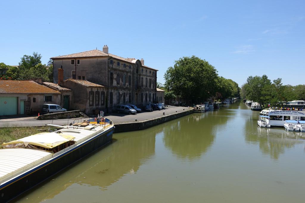 Canal du Midi bei Agde