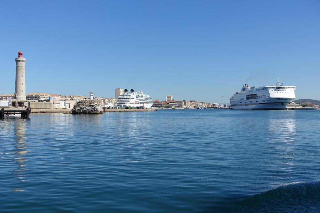 Sète - der Hafen