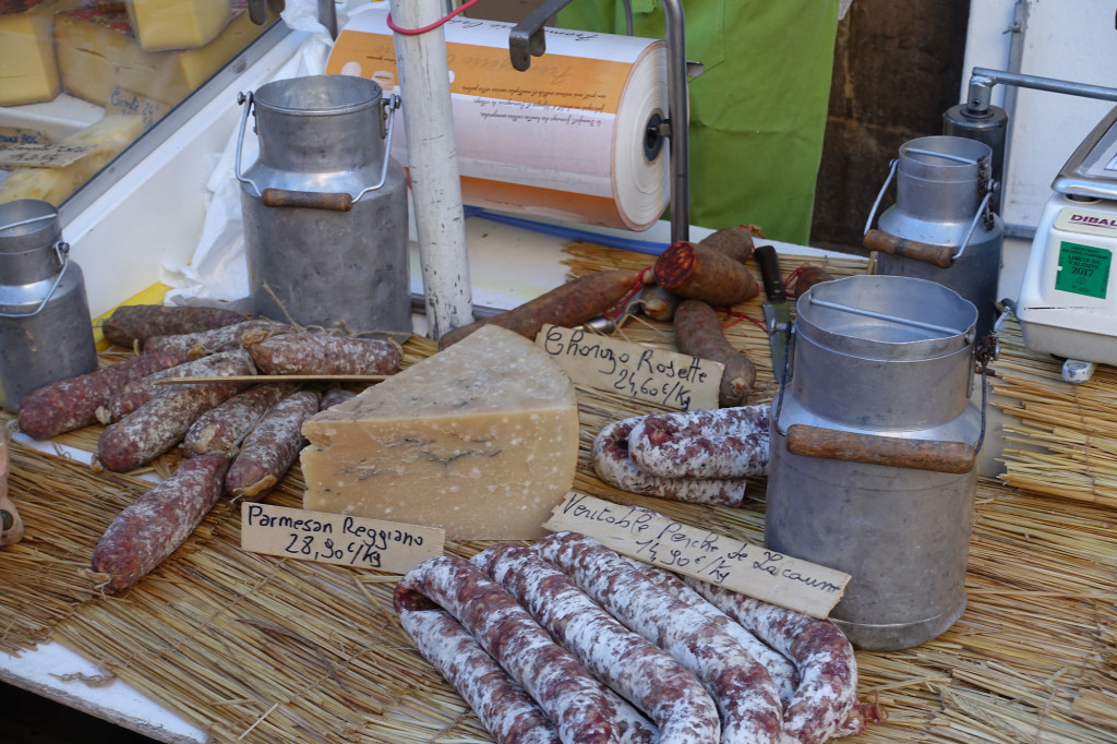 Es ist Markttag in Sète