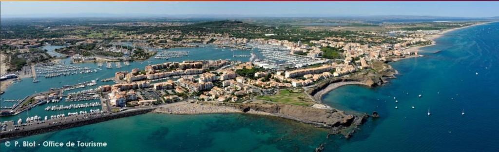 a Cap d' Agde von oben